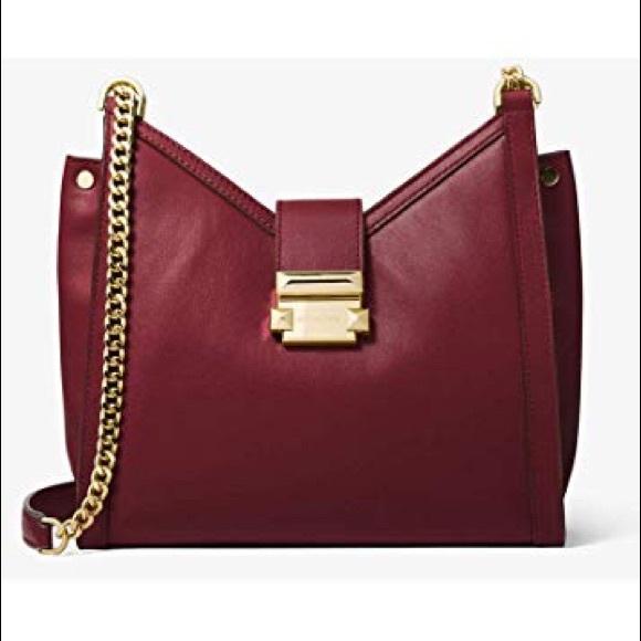 5706a1ff7c16 Michael Kors Bags | Sale Nwt Mk Whitney Sm Chain Shoulder Tote ...